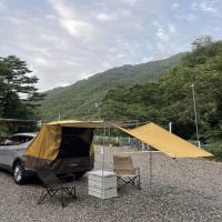 SUV 차크닉 차박 방수 도킹 텐트