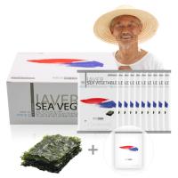 저염 파래맛김 10봉 100%국산참기름 광천김