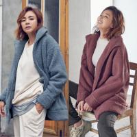 STL 뽀송뽀송 뽀글 여성 양털자켓 겨울 집업
