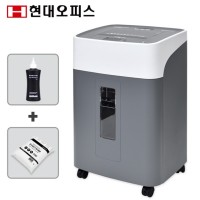 자동세단 300매 자동급지 문서세단기 PK-340AF (전용오일 + 파지봉투)  40L/ 대형 사무실 서류 파쇄기 종이분쇄기
