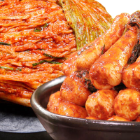 도미솔 팔도포기김치8kg + 총각김치2kg
