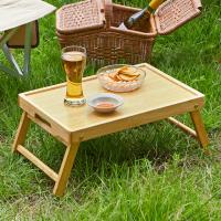 우디홈 캠핑 우드 테이블