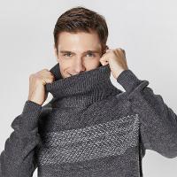 [칸투칸] 롱 터틀넥 남성 겨울 니트 스웨터