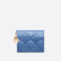 [디올 공식] 콘플라워 블루 페이던트 레이디 디올 미니 지갑