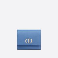 [디올 공식] 콘플라워 블루 그레인 30 Montaigne 몽테인 Lotus 지갑
